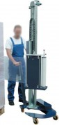 Robot de banderolage manuel - Dimensions de palette mini de 600x600 mm