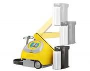 Robot de banderolage monophasé - Vitesse de rotation jusqu'à 93 m/min