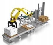 Robot de palettisation 1.800 sacs par heure - Jusqu'à 1,800 sacs par heure