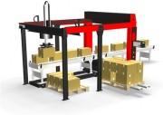 Robot de palettisation modulaire - Pas d´attente pendant le changement de palette