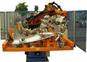 Robot de soudage par points de pièces de tôlerie