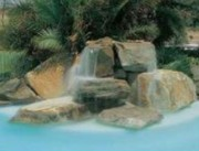 Rocher décoratif pour piscine