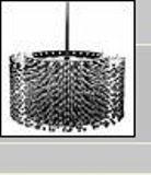 Rodoir flexible section interchangeable dim max alésage A 292 mm - Série GBDX Largeur totale en mm 105