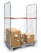 Roll container à maille - Capacité : 500 kg - 2 côtés