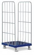 Roll container base plastique - Capacité de charge : 500 kg