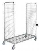Roll container modulable - Capacité : 200 Kg - Electro-galvanisé