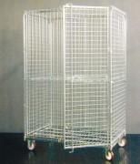 Roll conteneur antivol - Charge admissible : 500 kg  -  En acier électro-zingué