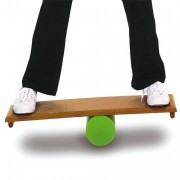 Rolla bolla - Planche en bois avec profil antidérapant