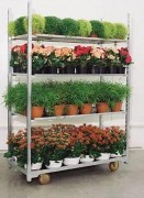 Rolls pour fleurs - 3 étagères