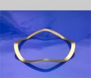 Rondelle élastique ondulée diamètre alésage L en mm 32 - PDD032025020XT
