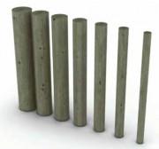 Rondin bois en pin traité - Diamètre (cm) : De 6 à 20