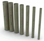 Rondin bois en pin traité classe 4 - Diamètre (cm) : De 6 à 20