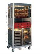 Rôtissoire 5 balancelles 8.5 kW - 20-25 volailles - 850 x700 x 940 mm