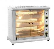 Rôtissoires à gaz - Capacité (poulets): 8 à 12