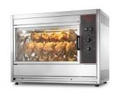 Rôtissoires de poulets - Electrique ou à gaz - Disponibles de 2 à 12 broches -  5 à 72 poulets