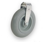 Roue pleine alvéolée pour chariot-brancard - Capacité de charge : jusqu'à 250 kg (sur 4 roues)