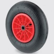 Roue pneumatique diamètre 260 et 400 mm - Roue pneumatique PQR400x100-Ø25 NL75 4PR