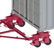 Roue pour conteneur - Capacité de charge : 32 T