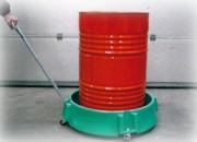 Roule fût plastique - En polyéthylène  - Pour fût 200 L - Charge : 240 kg