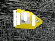 Rouleau de 100 m de grillage en fil  - Rouleau de 100 m - Hauteur de 1200 mm