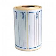 Rouleau de 500 étiquettes expéditeur/destinataire 125x65 115439 - apli_agipa
