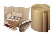 Rouleau de carton ondulé - Dimensions (lxL) : de 50 cmx50 m à 200 cmx50 m