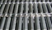 Rouleau de convoyeur en acier - Utilisation de -20 à 80°C