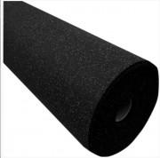 Rouleau de revêtement de sol en grains de gomme - Dimensions : 1.25 m x 10 m x 8 mm = 12.5m²