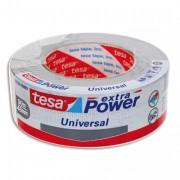 Rouleau de toile adhésive renforcée 25m x 50 mm coloris blanc - Tesa