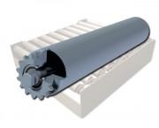 Rouleau fortes charges à simple pignon - Pour la palettisation - Embout : acier soudé