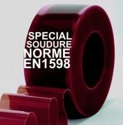 Rouleau pvc souple spécial soudure - Conformité : EN1598, AWS F2.3 & ISO 25980