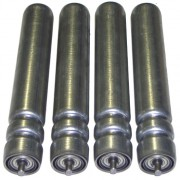 Rouleaux à gorges pour chargement - Matières : Acier - PVC