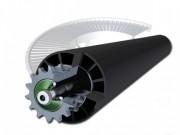 Rouleaux coniques commandés - Rayon intérieur : 500 et 800 mm