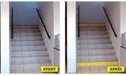 Rouleaux de signalisation escalier - Pour les contremarches