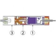 Rouleaux moteurs DC à balais pour convoyeur à rouleaux - Convoyeur modulaire et évolutif