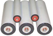 Rouleaux plastiques étanches - Vitesse : 1.5 m/s