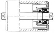 Rouleaux PVC 90 X 6.6 - Diamètre:  90 X 6.6