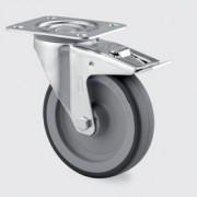 Roulette de manutention en acier - Roue pour appareil 3377PJR100P62