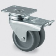 Roulette en acier embouti pour appareil - Roulette pour appareil 2977PJO050P40