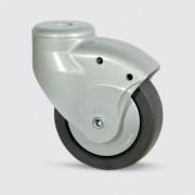 Roulette en polypropylène pour ameublement - Roulette pour ameublement 5020PJH100L51-10 RAL9006