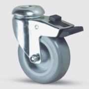 Roulette pivotante pour collectivité - Roulette pour collectivité 1477PAO075P30