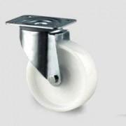 Roulette tournante polyamide - Capacité charge (Kg) : 200 - 250 - 350