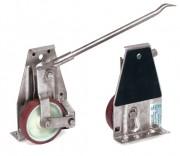 Roulette transport d'armoire - Charge (kg) : 1000/Paire