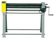 Rouleuse de tôle manuelle - 3 rouleaux en acier