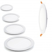 Round panel blanc Led - Angle de diffusion : 120°