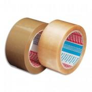 Ruban adhésif d'emballage pvc havane 52 microns, haute performance, 50x66m 57177 - Tesa