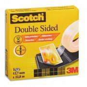 Ruban adhésif double face 12mm x 3, en boîte, pour assemblage définitif, 665 - Scotch