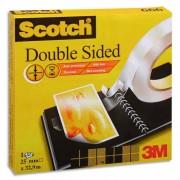 Ruban adhésif double face 19mm x 3, en boîte, pour assemblage définitif, 666 - Scotch