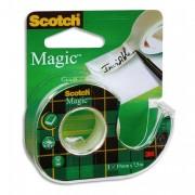 Ruban adhésif invisible 19mm x 25m, sur dévidoir plastique, 810 - Scotch