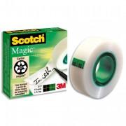 Ruban adhésif invisible 19mm x 7,5m, sur dévidoir plastique, 810 - Scotch